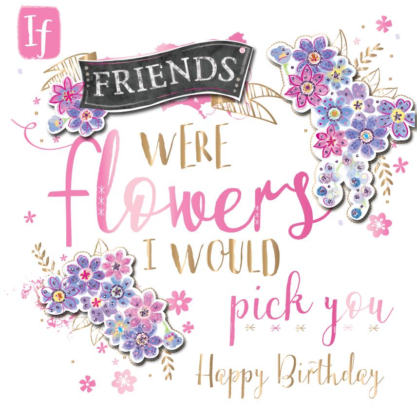 Happy Birthday Dear Friend Clipart