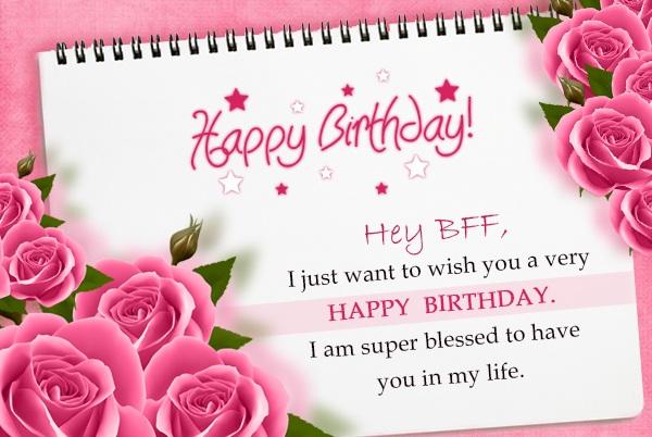 Happy Birthday Wishes For Best Friend Happy Birthday Bestie