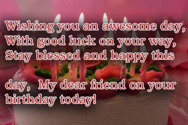 Friend Happy Birthday Wishes, Cards, Messages, Quotes & Pictures