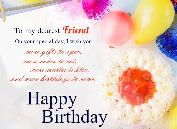Happy birthday greetings cards images messages for friend m4hsunfo
